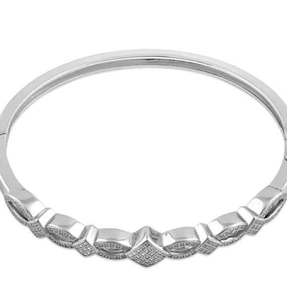 Vvegasbaby silver & gold Jewelry - Silver bracelet